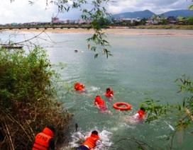 Một học sinh chết đuối khi tắm sông