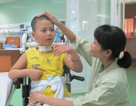 Cháu bé 8 tuổi mắc bệnh hiếm gặp đã được xuất viện