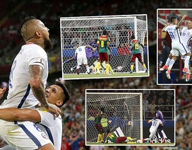 Cameroon 0-2 Chile: Những bàn thắng muộn