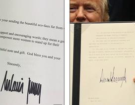 Chữ ký tiết lộ về con người của Đệ nhất phu nhân Mỹ Melania Trump
