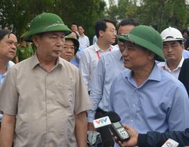 Chủ tịch nước Trần Đại Quang thị sát vùng rốn lũ Đà Nẵng
