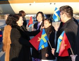 Chủ tịch Quốc hội bắt đầu thăm chính thức Vương quốc Thụy Điển