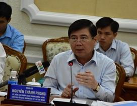 Chủ tịch TPHCM phê bình các sở báo cáo sai tốc độ tăng trưởng