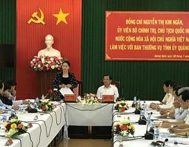 Chủ tịch Quốc hội hỗ trợ Lý Sơn 20 tỷ đồng xây chợ trên đảo