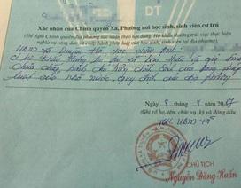 """Hà Nội: Kiểm điểm cán bộ phê """"chưa chấp hành"""" vào lý lịch tân sinh viên"""