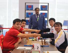 Đánh bại đối thủ Trung Quốc, cờ vua Việt Nam vô địch cờ nhanh