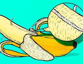 """Đừng bỏ những """"sợi dây"""" khi ăn chuối"""