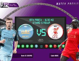 Man City - Liverpool: Đầy rẫy khó khăn