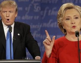 Bà Clinton nói lẽ ra đã là tổng thống, ông Trump giận dữ đáp trả