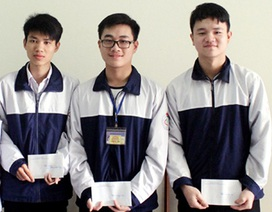5 học sinh trường THPT Chuyên Hà Tĩnh được miễn thi THPT Quốc gia 2017