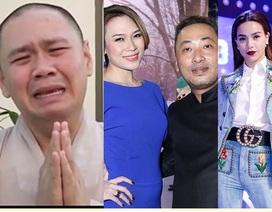 Minh Béo khóc xin lỗi, Mỹ Tâm và loạt sao dính tin đồn tình cảm