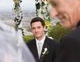 Cảm xúc của cha lần đầu nhìn con gái trong chiếc áo cô dâu