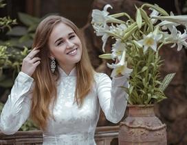Cô gái Nga đem lòng yêu áo dài và Hà Nội