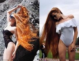 """Gặp gỡ cô gái sở hữu mái tóc dài tuyệt đẹp """"gây sốt"""" cộng đồng mạng"""