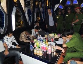 Kiểm tra hành chính quán Karaoke, phát hiện 10 đối tượng sử dụng ma túy
