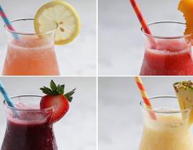 Mát lạnh mùa Hè cho gia đình với các loại cocktail trái cây