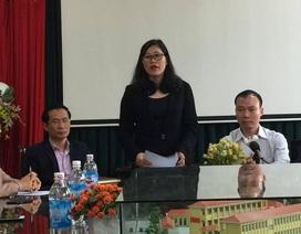 Buổi công bố cách chức, hiệu trưởng và hiệu phó trường Nam Trung Yên vắng mặt