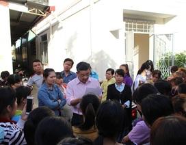 Nha Trang: Hàng chục công nhân may đình công, đòi nợ lương đầu năm