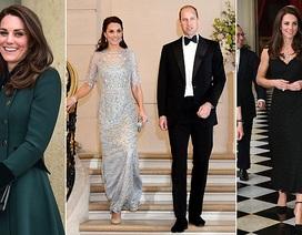 Công nương Anh thay 3 bộ trang phục trong ngày đầu thăm chính thức Pháp