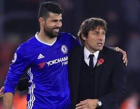 HLV Conte bất ngờ lên tiếng tri ân Diego Costa