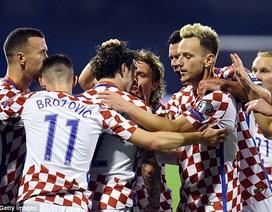 Thắng đậm Hy Lạp, Croatia chạm tay vào vé dự World Cup 2018