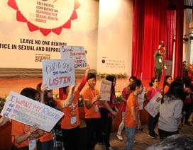 Sức khỏe và quyền sinh sản và tình dục: Không ai bị bỏ lại phía sau
