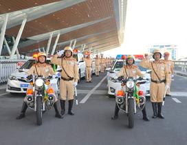 """Hơn 500 Cảnh sát giao thông """"tiền trạm"""" phục vụ APEC"""