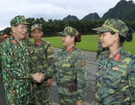 Chủ tịch nước: Quân đội phối hợp đấu tranh làm thất bại mọi âm mưu chống phá