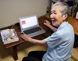 """Cụ bà 82 tuổi vẫn """"siêu"""" lập trình ứng dụng điện thoại"""
