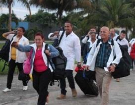 Cuba cử hàng trăm bác sĩ hỗ trợ các nước sau siêu bão lịch sử