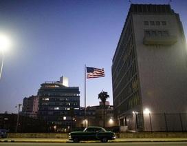 """Mỹ rút gần hết nhân viên ngoại giao ở Cuba vì """"sự vụ bí ẩn"""""""