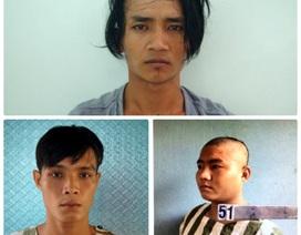 Bắt băng cướp nguy hiểm từng xộ khám tại Tống Lê Chân