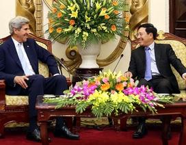 Cựu Ngoại trưởng Mỹ khẳng định sẽ đóng góp cho lợi ích của Việt Nam