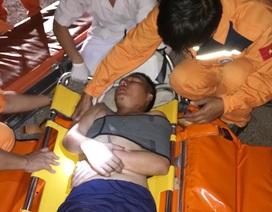 Cứu thuyền viên người Việt trên tàu nước ngoài bị nạn ở ngoài khơi
