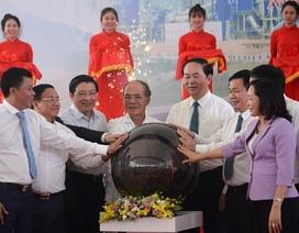 Chủ tịch nước cắt băng thông xe đường N5 nối cảng biển quốc tế