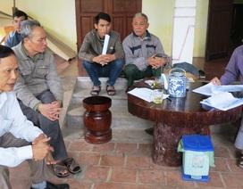 Nghệ An: Bị thu hồi đất, người dân làm đơn kêu cứu