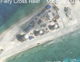 """Trung Quốc bị """"tố"""" sắp xây xong hạ tầng quân sự trên đảo nhân tạo"""