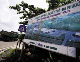 TPHCM chờ kết luận của Thanh tra Chính phủ về bãi rác Đa Phước