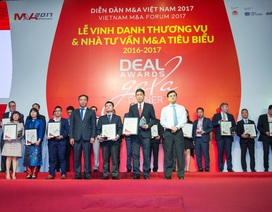 BIDV nhận giải Thương vụ M&A tiêu biểu Việt Nam năm 2016-2017