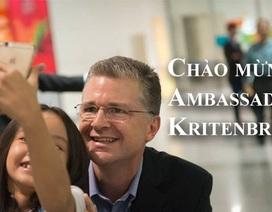 Tân Đại sứ Mỹ muốn làm quen với nhiều người bạn mới tại Việt Nam