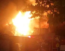 Cháy lớn tại trung tâm điện máy