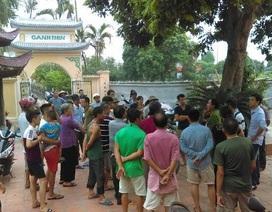 Vụ dân vây chùa vì mất chuông: Sư trụ trì trộm chuông đem bán