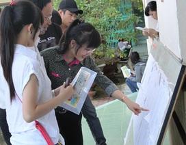 Gần 500.000 thí sinh đăng ký xét tuyển từ 5 nguyện vọng trở lên