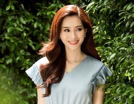 """Hoa hậu Đặng Thu Thảo """"tái xuất"""" ngọt ngào sau kết hôn"""