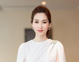 Hoa hậu Đặng Thu Thảo lần đầu xuất hiện sau thông báo kết hôn