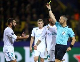 """Ngôi sao Real Madrid trả giá đắt vì """"tẩy thẻ"""" ở Champions League"""