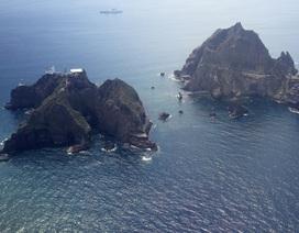 Nhật - Hàn căng thẳng vì quần đảo tranh chấp