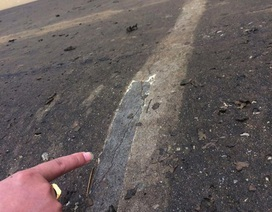 Thân đập dâng nghìn tỷ chi chít đường nứt