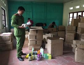 Bắt 80 thùng mỹ phẩm nhập lậu Trung Quốc
