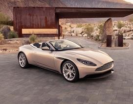 Aston Martin DB11 Volante mui trần chính thức ra mắt